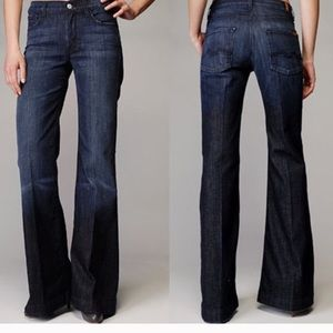 7 for All Mankind Low Rise Ginger Jeans